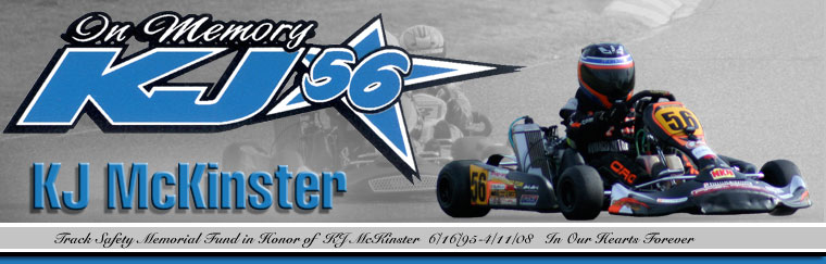 Official Site of the KJ McKinster Track Safety Memorial Fund